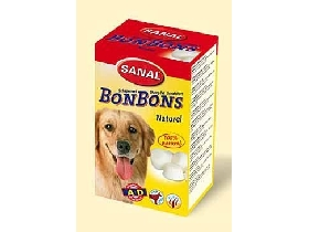 Sanal pes Bonbons NATURAL s vitam�nmi 150g
